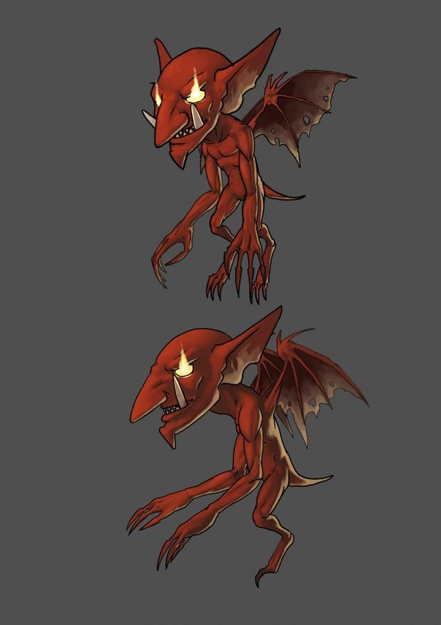 Gargoyle Chibi concept