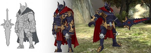 Garen's concept to 3D