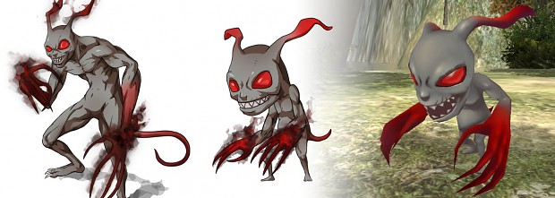 Imp - From concept to 3D