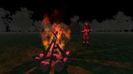 Soldier Campfire
