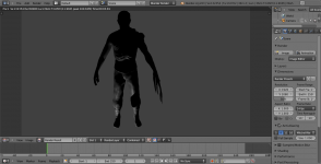 Monster Model Rendered and Not