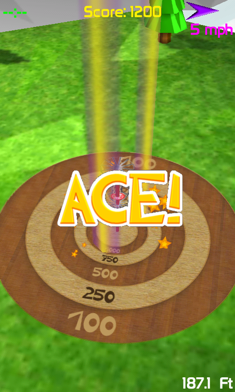 Ace! in Practice mode