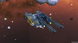 Terran Alliance frigate II