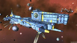 Terran Alliance BattleCruiser
