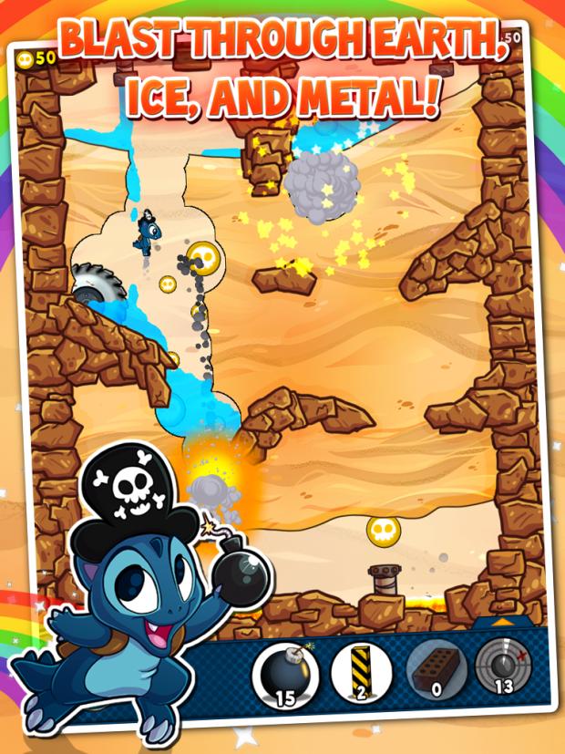 H2FLOW: Destructible terrain