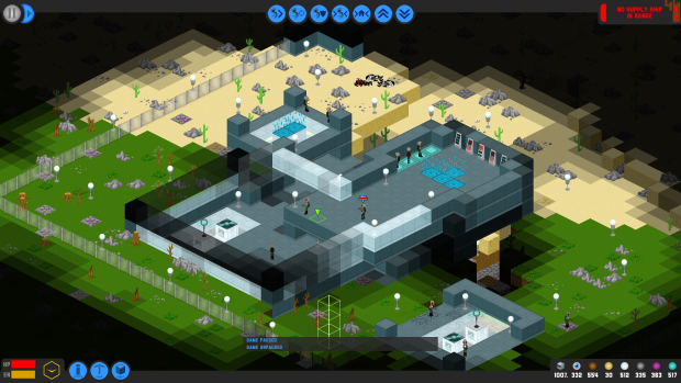 Screenshot Saturday showing base building