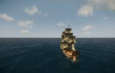 St. Albans under sail