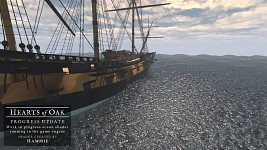 Testing the ocean shader