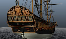First ship model