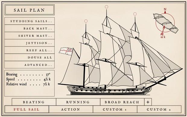 Sail Menu Concept