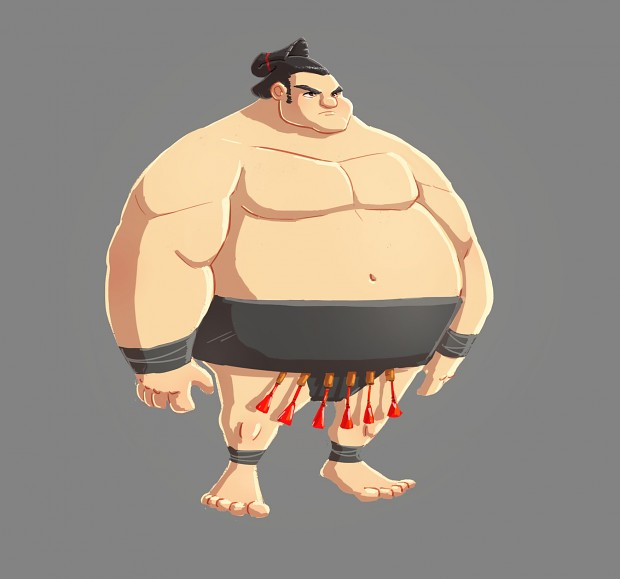 Sumo Character Concept