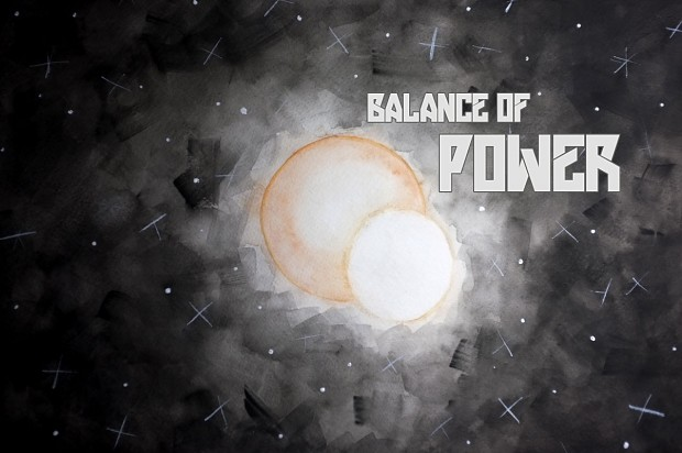Balance of Power Splashpage (prototype)