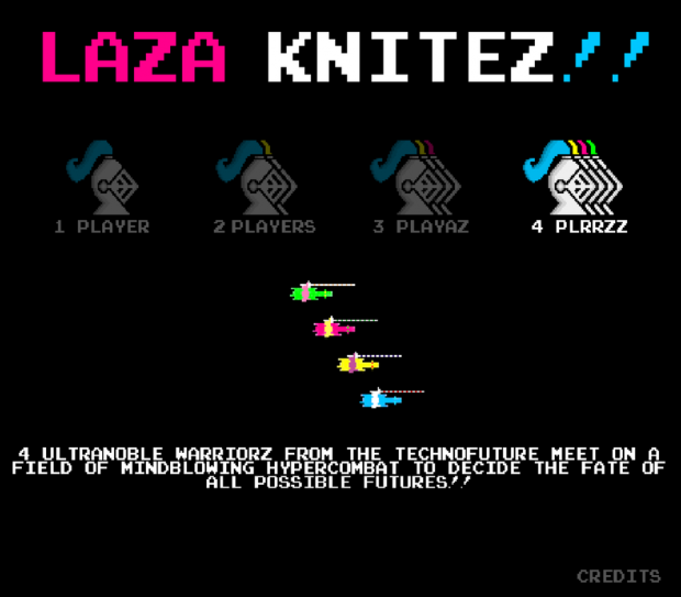 LAZA KNITEZ!! interface