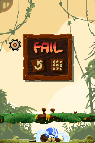 Fail Screen