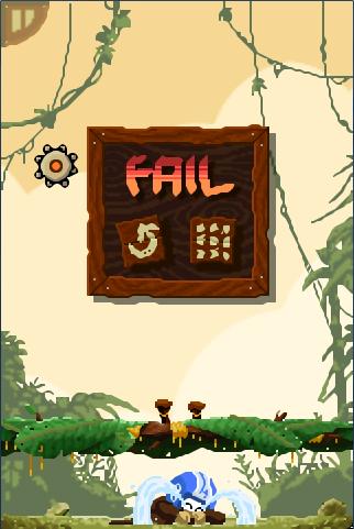 Fail Screen