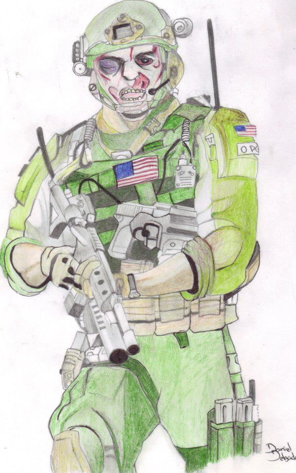 Soldier of the cover illustration