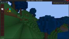 Blue Trees, levelling