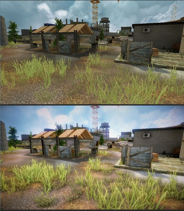 New improvements and comparison shots