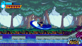 Grapple Knight Kickstarter Screens
