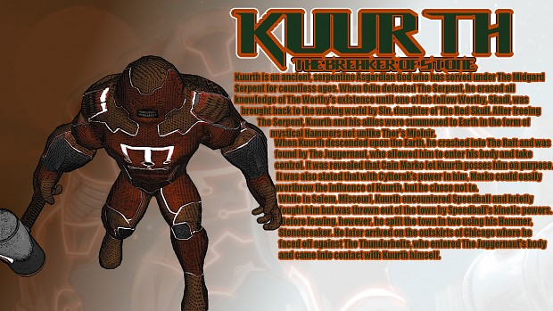 Kuurth the Breaker of Stone