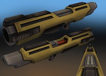 Rocket Launcher Textured