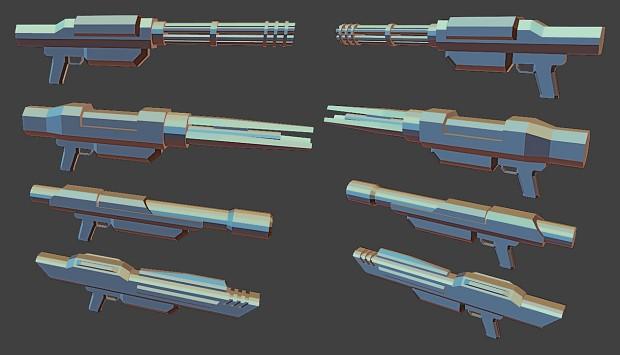 Four Guns