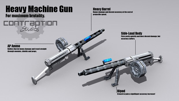 NEW MACHINE GUNS