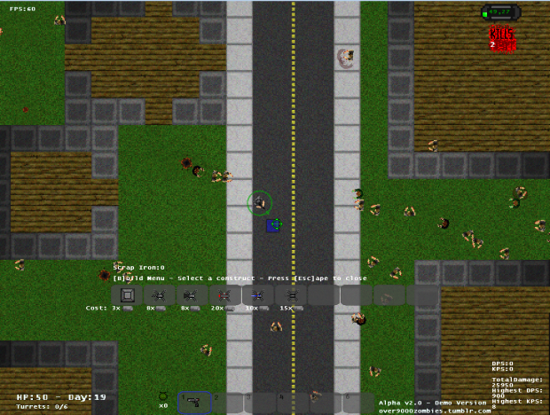 Over 9000 Zombies! - Alpha Version 2!