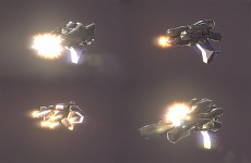 Generated Muzzle Flashes