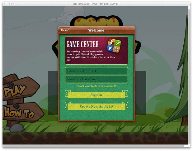 Game Center Integration