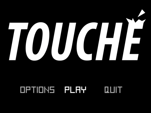 Touché - main menu
