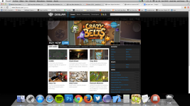 Crazy Belts in Desura Home Page