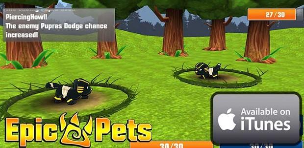 Epic Pets 3D iOS