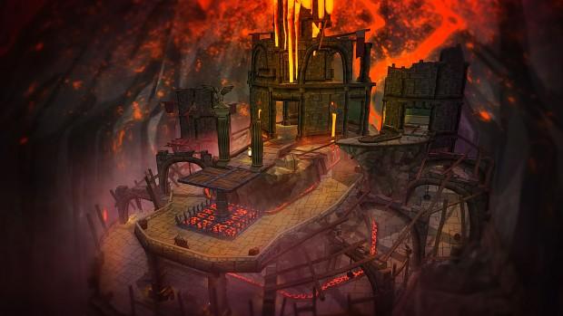 Hellfire Map Concept Art