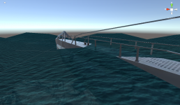new water - wave + transparant = sea water!