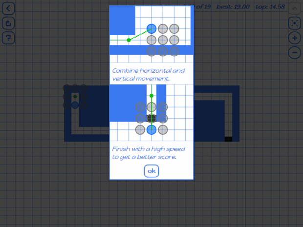 Tutorial and guidance screenshots