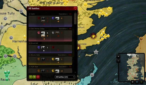 atWar Screenshot: Game of Thrones