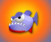 Evil piranha