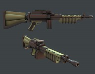 Machine Gun Update [Texture WIP]