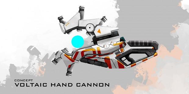 Sanctum 2 - Weapons - Voltaic Hand Cannon