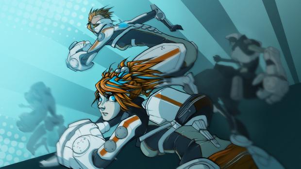 In-game comic!