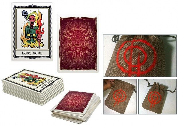 MASTEMA Out of hell Card Deck preview