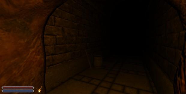 Beginning of a dungeon