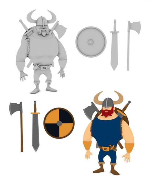 Viking Char