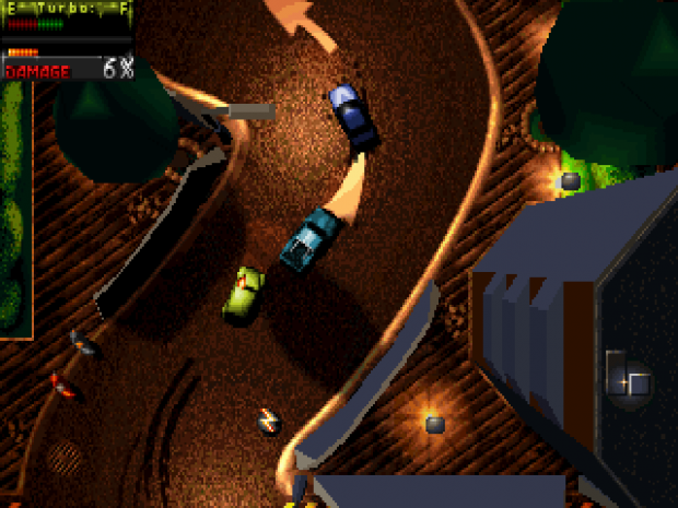 In-game image - Death Rally