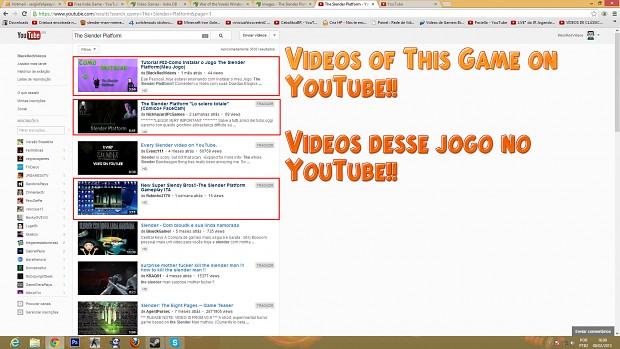 Videos no YouTube!!-Videos in YouTube!!