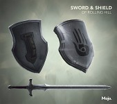 The Sword and Shield of Rolling Hill