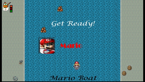 Mario Boat Screenshots