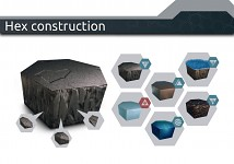 Hex construction
