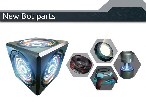 New bot parts